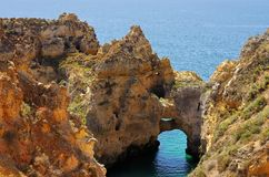 Ponta da Piedade Stock Photography