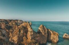 Ponta DA Piedade, Algarve, Portugal Stock Foto