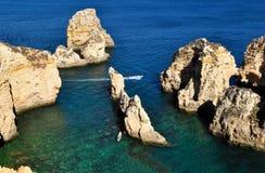 Ponta da Piedade, Algarve, Portugal Royalty Free Stock Image
