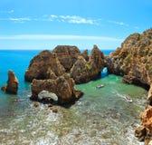 Ponta da Piedade Algarve, Portugal. Royalty Free Stock Photos