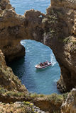 Ponta da Piedade - Algarve -Portugal Royalty Free Stock Images