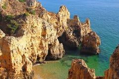 Ponta da Piedade, Lagos, Algarve, Portugal Royalty Free Stock Photos