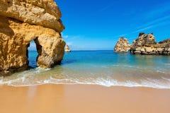 Ponta da Piedade (Lagos, Algarve, Portugal). Stock Image