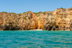 Ponta Da Piedade, Lagos, Algarve, Portugal. Royalty Free Stock Images