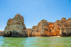 Ponta Da Piedade, Lagos, Algarve, Portugal. Stock Photo