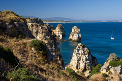 Ponta da Piedade Royalty Free Stock Photo