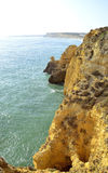 Ponta Da Piedade rock formations Camels head Royalty Free Stock Images