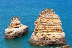 Ponta da Piedade udde (Lagos, Algarve, Portugal) Royaltyfri Bild