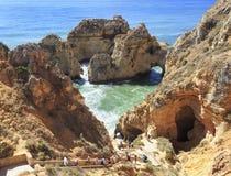 Ponta da Piedale in Algarve, Portugal Royalty Free Stock Image
