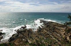 A ponta de Bornéu. imagem de stock