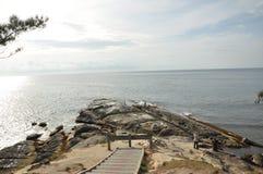 Ponta de Bornéu, Simpang Mengayau, Sabah, Malásia Fotos de Stock