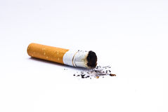 Ponta de cigarro Fotografia de Stock