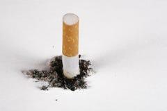Ponta de cigarro Foto de Stock Royalty Free