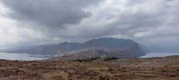 Ponta De Gale Madeira Fotografia Stock Libera da Diritti