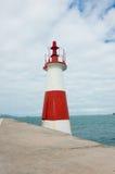 Ponta de Humaita. Lighthouse in the baia de todos os santos Stock Photos