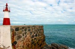 Ponta de Humaita. Lighthouse in the baia de todos os santos Stock Photography