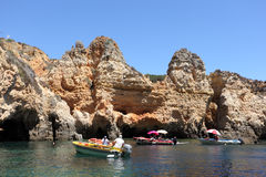 Ponta de Piedade, Algarve Portugal Stock Photo