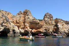 Ponta de Piedade, Algarve Portugal Stock Photo