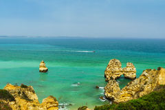 Ponta de Piedade Stock Photo
