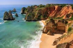 Ponta de Piedade in Lagos, Algarve region, Portugal Stock Image