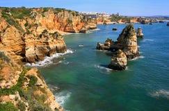 Ponta de Piedade in Lagos, Algarve region, Portugal Stock Photo