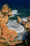 Ponta de Piedade in Lagos, Algarve region, Portugal Stock Photo
