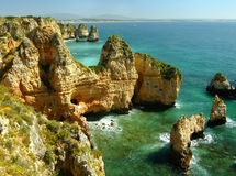 Ponta de Piedade in Lagos, Algarve region, Portugal Stock Photos