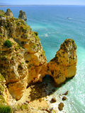 Ponta de Piedade in Lagos, Algarve region, Portugal Stock Image