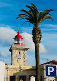 Ponta de Piedade Lighthouse. Lagos, Algarve. Portugal. Stock Photography