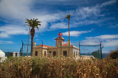 Ponta de Piedade Lighthouse Royalty Free Stock Photo