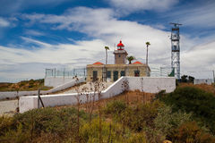 Ponta de Piedade Lighthouse Stock Image