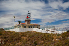 Ponta de Piedade Lighthouse Royalty Free Stock Photography