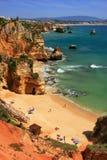Ponta de Piedade região em Lagos, o Algarve, Portugal Imagem de Stock Royalty Free