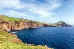 Ponta de São Lourenço; Madeira Portugal fotografering för bildbyråer