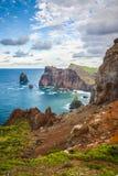 Ponta de Sao Lourenco, το ανατολικότατο μέρος του νησιού της Μαδέρας Στοκ Εικόνες