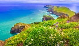 Ponta de Sao Lourenco, Мадейра, Португалия Стоковое Изображение