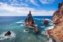 Ponta de Sao Lourenco. East coast of Madeira island - Ponta de Sao Lourenco, Portugal Stock Image