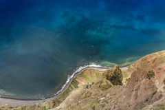 Ponta de Sao Lourenco, the eastern part of Madeira Island, Portu Royalty Free Stock Photo
