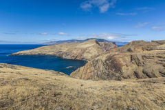 Ponta de Sao Lourenco, the eastern part of Madeira Island, Portu Stock Image