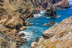 Ponta de Sao Lourenco, the eastern part of Madeira Island, Portu Stock Photography