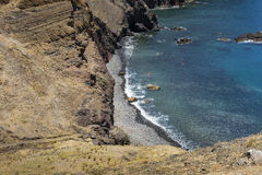 Ponta de Sao Lourenco, the eastern part of Madeira Island, Portu Royalty Free Stock Photo