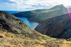 Ponta DE Sao Lourenco, het meest oostelijke deel van het Eiland van Madera royalty-vrije stock fotografie