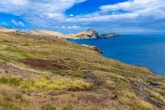 Ponta DE Sao Lourenco, het meest oostelijke deel van het Eiland van Madera stock foto