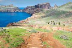Ponta de Sao Lourenco, ilha de Madeira (Portugal) Imagem de Stock