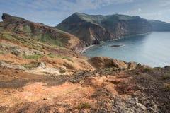 Ponta de Sao Lourenco, la parte orientale dell'isola del Madera Fotografia Stock Libera da Diritti