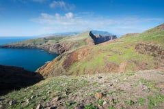 Ponta de Sao Lourenco, la parte orientale dell'isola del Madera Immagine Stock Libera da Diritti