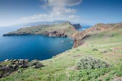 Ponta de Sao Lourenco, la parte orientale dell'isola del Madera Fotografia Stock