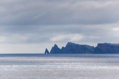 Ponta de Sao Lourenco, la partie située le plus à l'est de l'île de la Madère Photos libres de droits