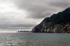Ponta de Sao Lourenco, la partie située le plus à l'est de l'île de la Madère Image libre de droits