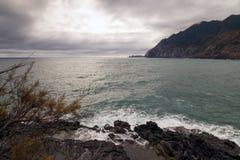 Ponta de Sao Lourenco, la partie située le plus à l'est de l'île de la Madère Photo libre de droits